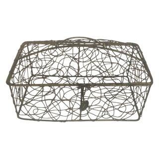 Sculptural Wire Box