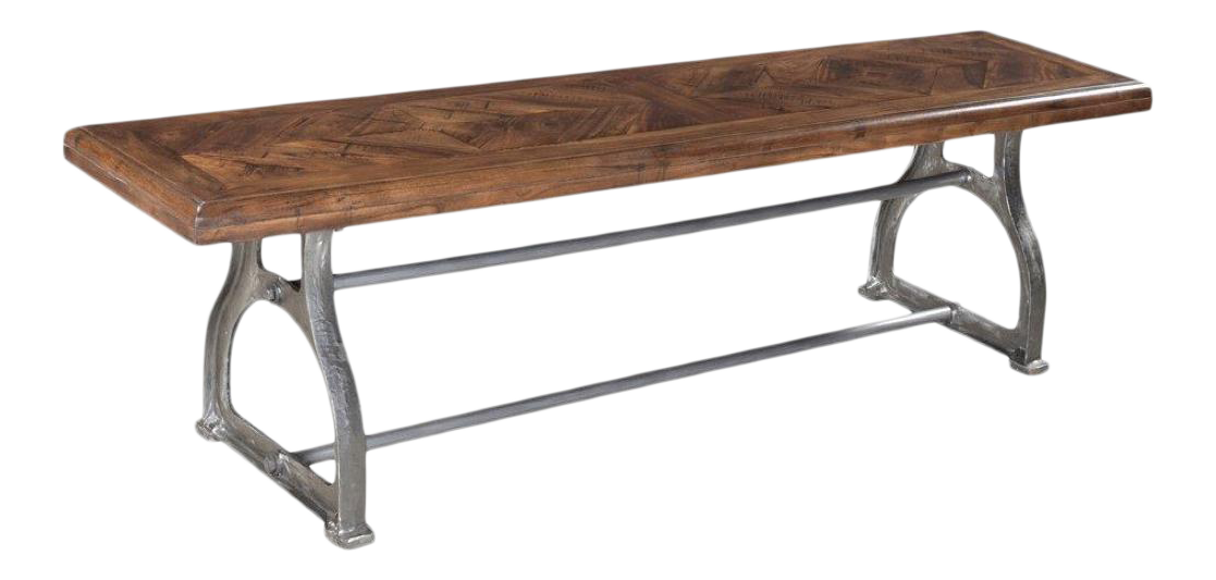 Singer Industrial Dining Bench