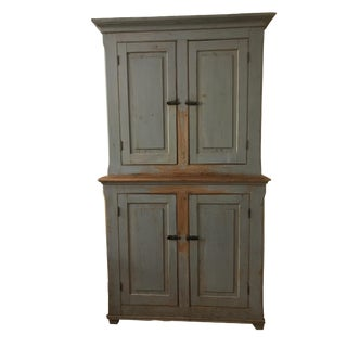 French Canadian Country Cabinet