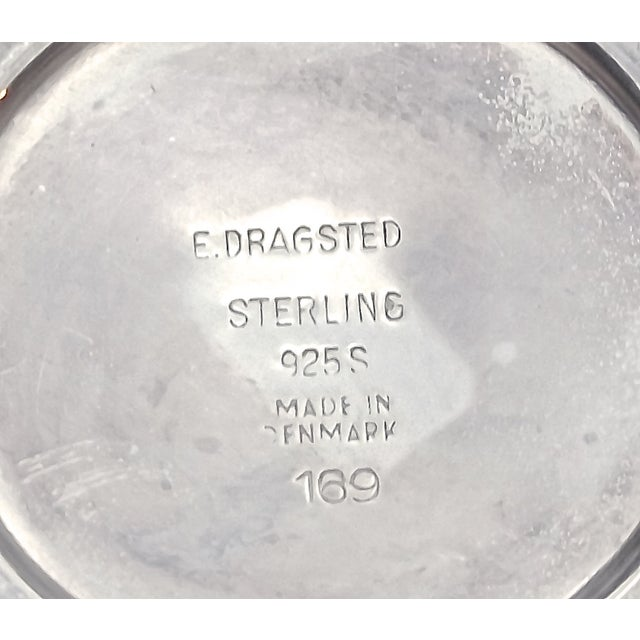 Mid-Century Modern Danish Sterling Silver Creamer - Image 4 of 6