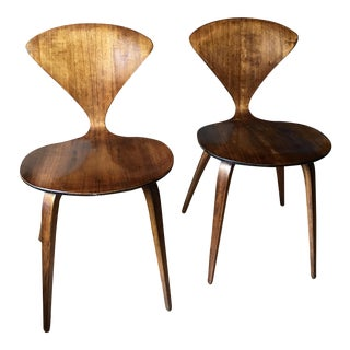 Norman Cherner for Plycraft Dining Chairs - Pair