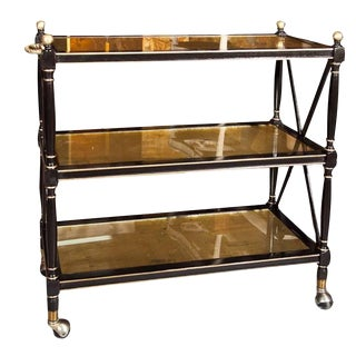 Maison Jansen Three-Tier Serving Cart