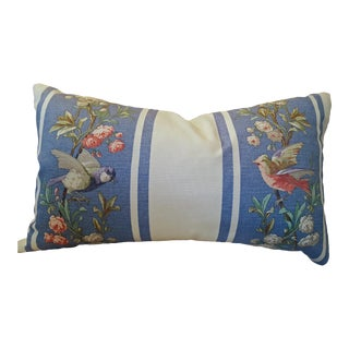 French Country Style Cotton Down Filled Pillow