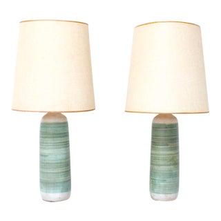 Mid-Century Ceramic Table Lamps