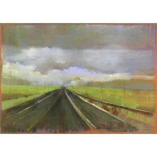 Road Series, 2013, Pastel on paper by Kathleen Dunn.