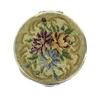 Embroidered Austrian Compact