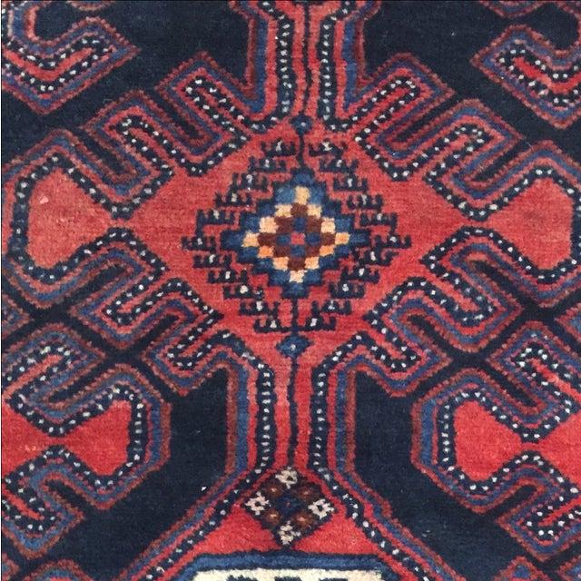 Image of Persian Hamadan Runner - 2′11″ × 10′6″
