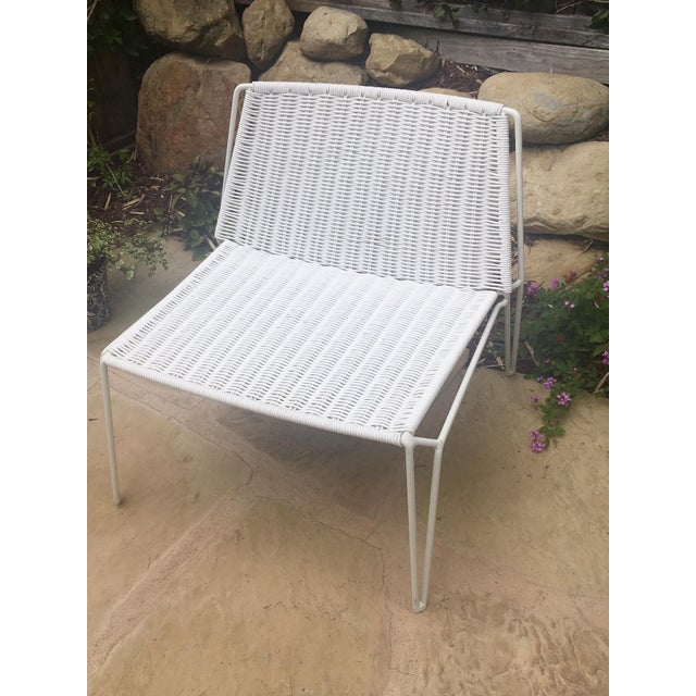 Room & Board Penelope Outdoor Loungers - A Pair - Image 4 of 8