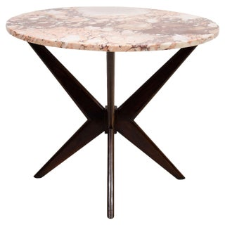 Marble-Top Dining or Occasional Table