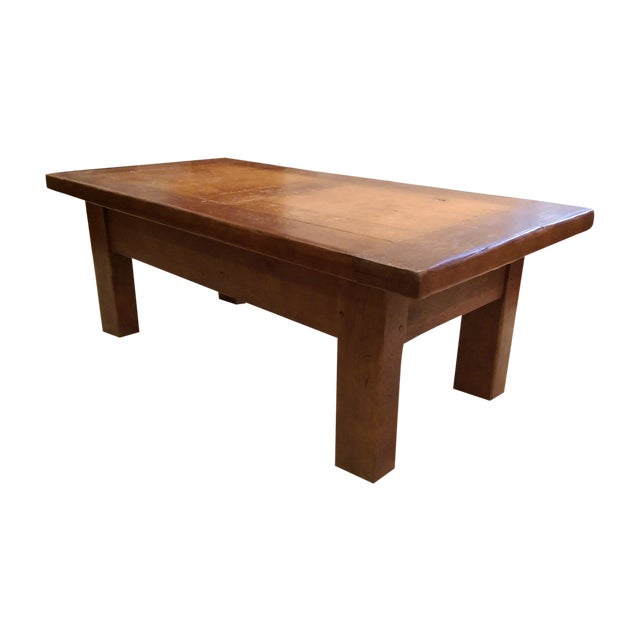 ABC Carpet & Home Solid Wood Coffee Table - Image 1 of 7