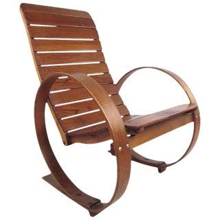 Vintage Studio Made Rocking Chair