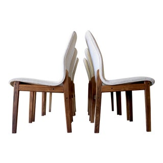 Mid-Century Hugo Frandsen for Borge Sondergaard Rosewood Dining Chairs - Set 6