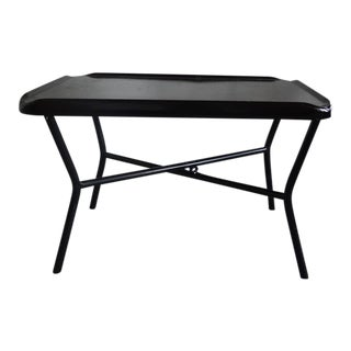 Russel Wright Black Metal Tray Table