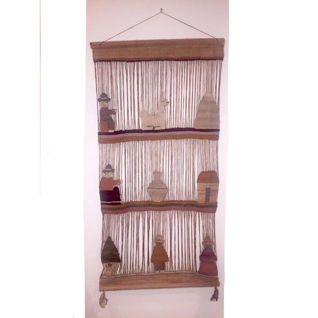 Vintage Peruvian Yarn & Wool Art - Image 2 of 6