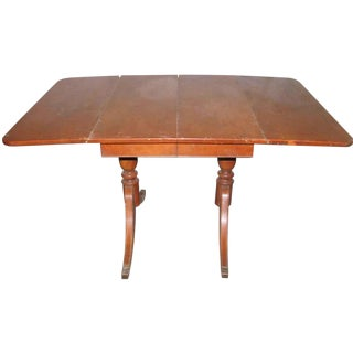 Duncan Phyfe Leaf Table