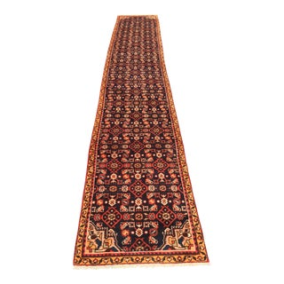 "Vintage Persian Malayer Runner - 2'4"" x 14'4"""