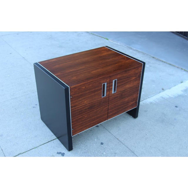 Image of Robert Baron Glenn of California Rosewood Nightstand