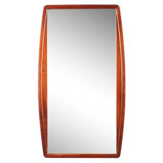 1960s Mid-Century Mahogany Mirror