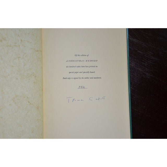 Image of A Christmas Memory Truman Capote Limited Edition