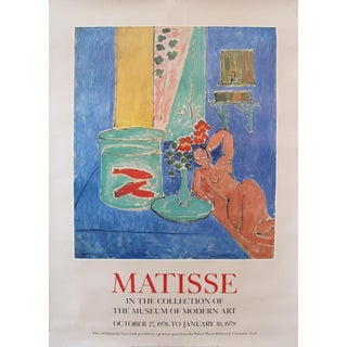 1978 Henri Matisse Exhibition Poster, MOMA