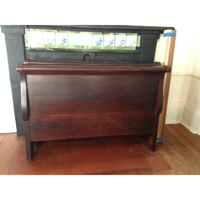 Antique Child's Sleigh Bed - Image 8 of 10