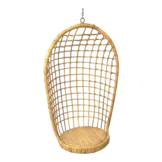 1960s Rohe Cane Hanging Chair