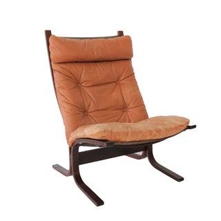Vintage Westnofa Siesta Chair in Cognac