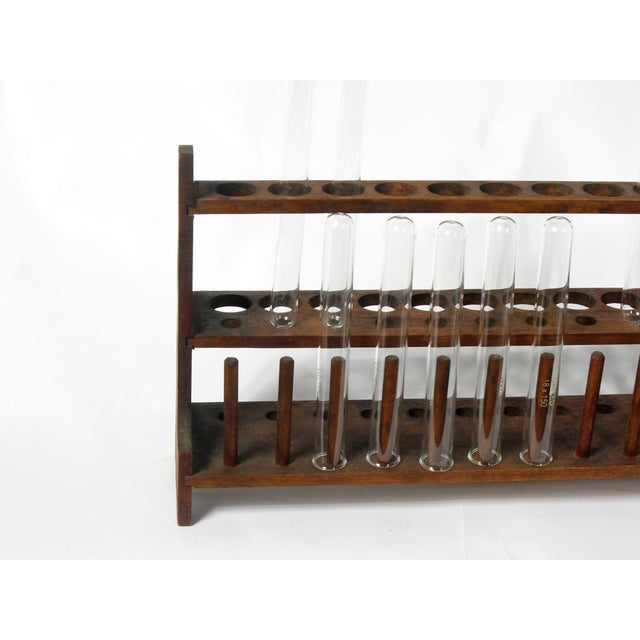 Vintage Scientific Test Tubes & Holder - Image 3 of 5