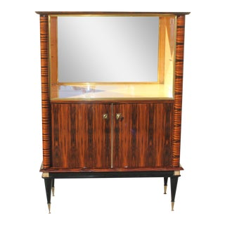 French Art Deco Bar / Display Cabinets / Sideboard Macasaar Ebony Circa 1940s .