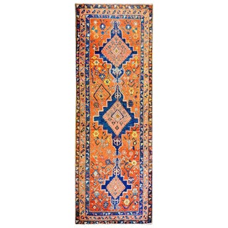 19th Century Bakshaish Runner - 3′3″ × 8′7″