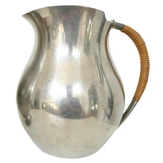 Just Andersen Signed Pewter Pitcher