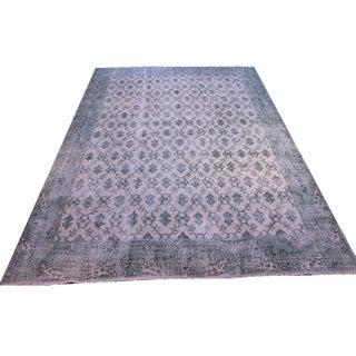 "7'1"" X 10'1"" Vintage Turkish Hand Woven Anatolian Rug"