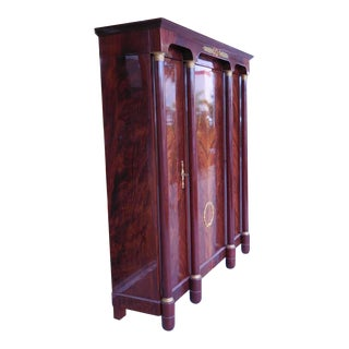 Empire Style Three-Door Armoire