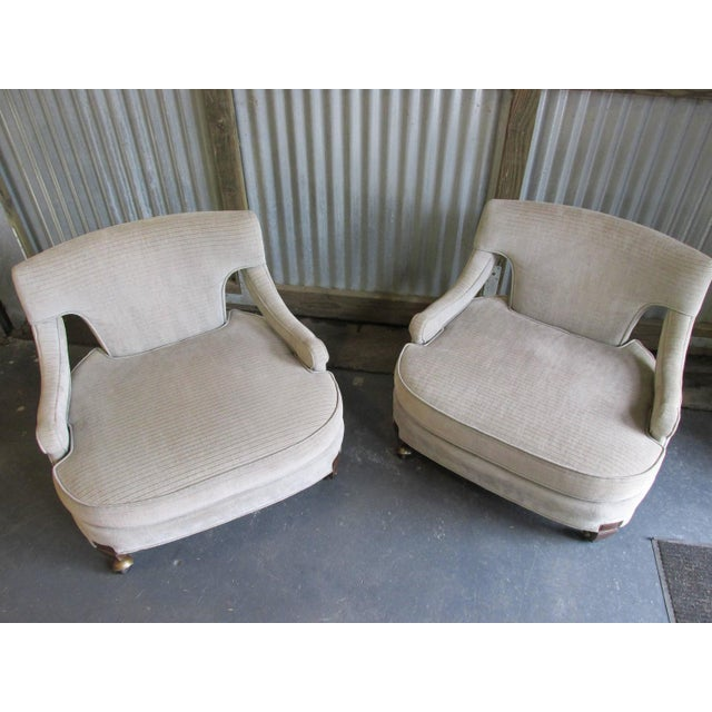 Billy Haines Style Vintage Lounge Chairs - A Pair - Image 8 of 10