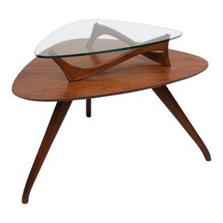 Vladimir Kagan Style Side Table, 1960s