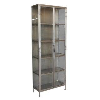 Nickel Display Cabinet