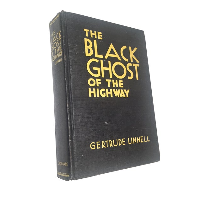 """The Black Ghost of the Highway"" by Gertrude Linnell - Image 1 of 4"