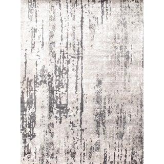 "Gray Modern Bamboo Rug - 9'2"" X 12'0"""