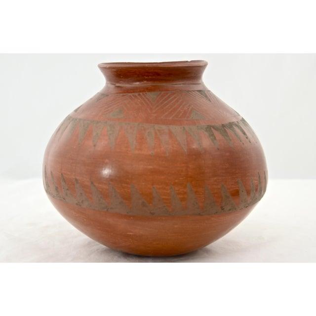 Southwestern Redware Pottery Urn - Image 2 of 7