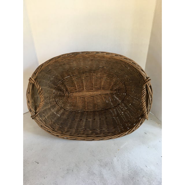 Oval French Patina Basket - Image 4 of 7