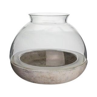 Cement & Glass Terrarium