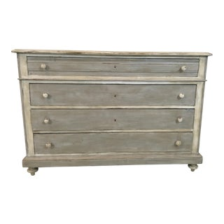 Antique Painted French Chest