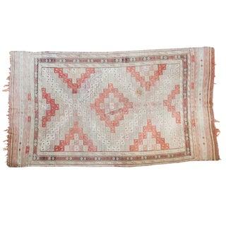 """Vintage Turkish Jijim Carpet - 5'7"""" X 9'7"""""""