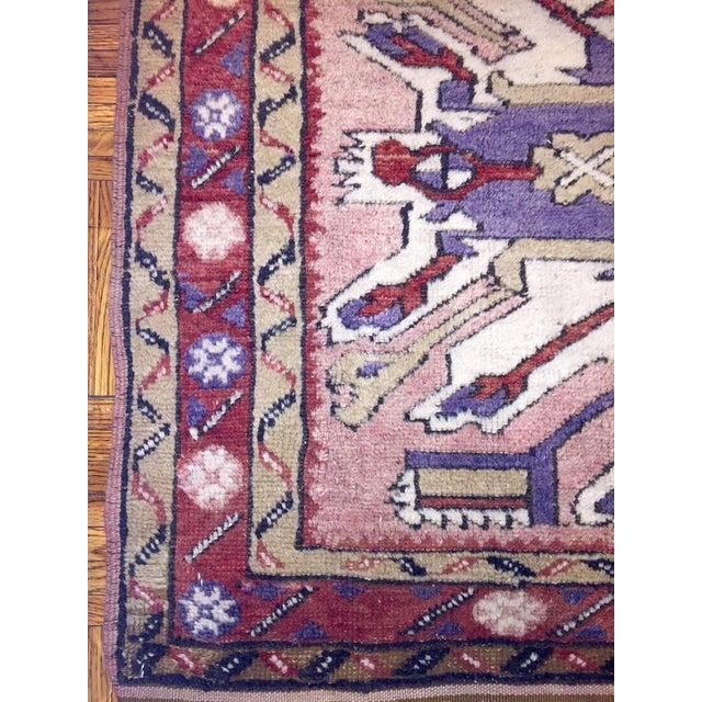 Image of Kras Turkish Antique Rug - 3′8″ × 6′3″