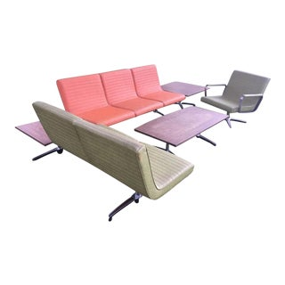 Chromcraft Mid-Century Modern Floating Sectionals - Set of 5