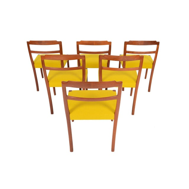 Ole Wanscher Teak Dining Chairs - Set of 6 - Image 8 of 8