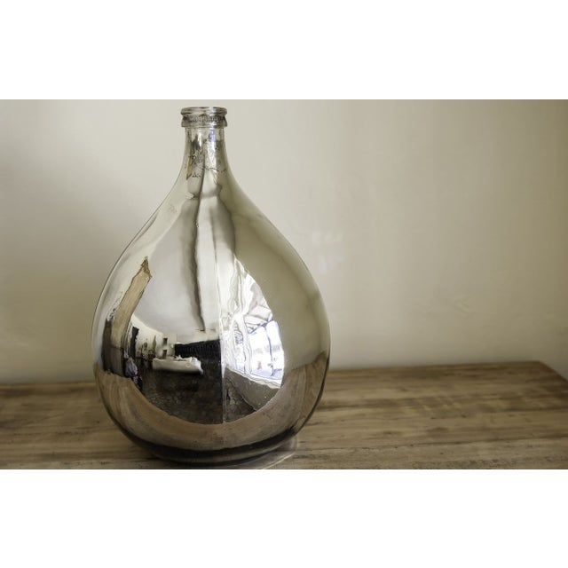 Mercury Glass Wine Vessel - Image 3 of 5