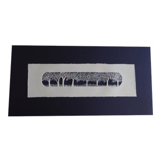 Enchanted Wood Embossed Etching by Joy Jerviss