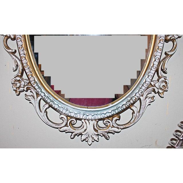 Oval Rococo Mirror - Image 5 of 5
