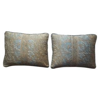 Fortuny Vintage Damask Pillows - A Pair